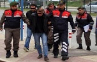 Alanya rezidans hırsızları hapsi boyladı