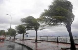 Batı Akdeniz bölgesine fırtına uyarısı!