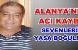 Alanyalı eski belediye başkanı hayatını kaybetti