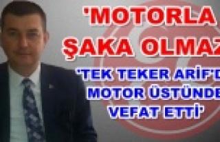 Türkdoğan Alanya'daki motosiklet terörü hakkında...