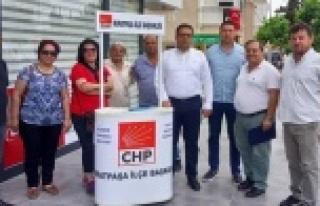 CHP İl Başkanı Kumbul'dan seçmen listeleri...