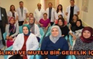 Gebe bilgilendirme anne adaylarının hizmetine açıldı
