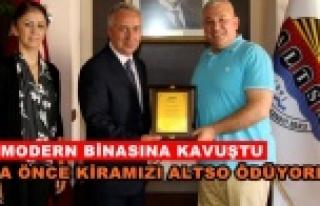 SGK Müdürü'nden Başkan Şahin'e teşekkür...