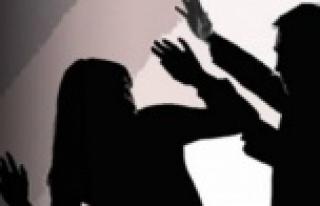 Alanya'da kadına şiddeti önlemeye çalışan...