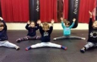 Alanya'da çocuklar için jimnastik, yetişkinler...