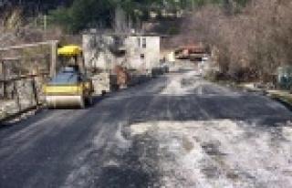 ASAT Alanya kırsalındaki o yolları düzeltti