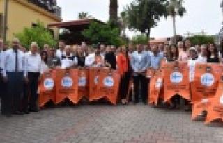 Alanya'da işletmeler turuncu bayrak için yarışacak