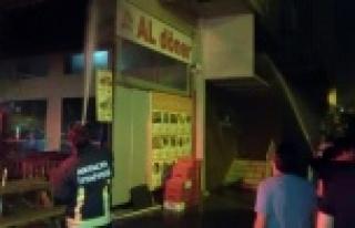 Alanya'da gece mahalleyi ayağa kaldıran yangın