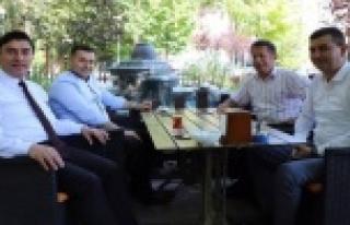 Başkan Yücel ve Türkdoğan'dan Taşkent çıkarması