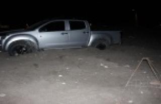 Caretta Caretta alanında drift atan sürücüye rekor...