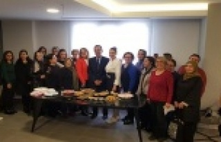 Alanya Belediyesi mutlu pasta atölyesi mutluluk üretiyor
