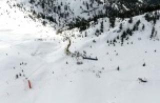 Alanya Belediyesi Akdağ Kayak Merkezi için düğmeye...