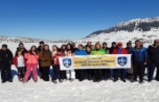Alanya'da kayak öğrenmeyen kalmayacak!