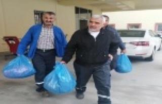 Gazipaşa'da çöp toplayan 3 işçi zehirlenme...