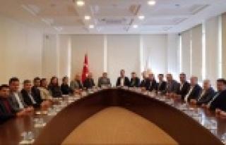 Alanya CHP'den Ak Parti'ye ziyaret