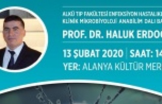 Alanya'da virüs konferansına davet