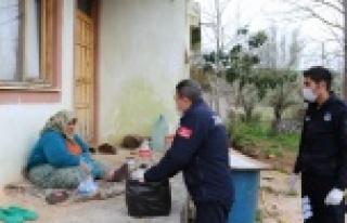 65 yaş üstü için özel yardım ekibi kuruldu