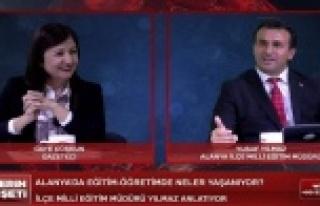 Alanya'da canlı yayında yolsuzluk iddiası