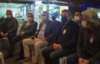 CHP İl Başkanı Bayar'dan Aras için taziye...