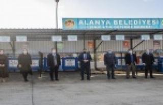 Alanya'da Atık Getirme Merkezi kuruldu