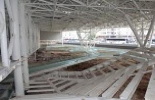 Doğu Garajı ve Nekropol projelerinin yüzde 95'i...