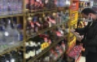 Yılbaşı öncesi alkollü içki satış yerleri...
