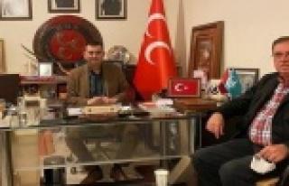 Yıldız'dan Türkdoğan'a ziyaret