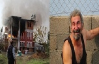 Antalya'da ağlatan yangın