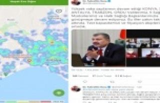 Antalya'da risk haritası kırmızıdan yeşile...