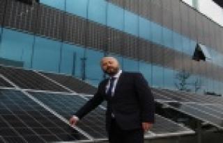 Cam panellerle elektrik üreten akıllı binalarla...