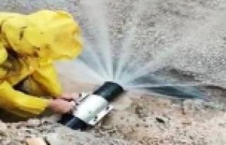 Tonlarca su kaybı önlendi