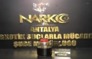 Antalya'da en yüksek miktarda uyuşturucu ele...
