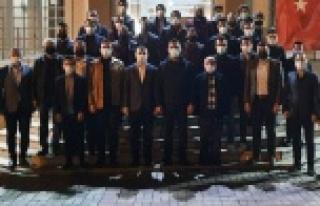 Ak Gençlik Çanakkale'yi dualarla andı