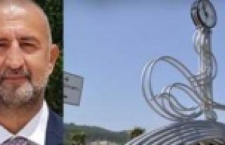 Ak Partili Kiriş'ten CHP'li başkana Tuğra...