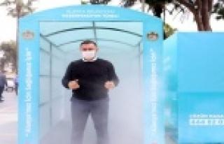 Alanya'da Dezenfekte işleminde üstün başarı