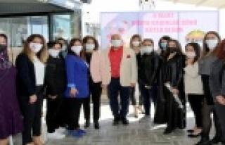 ALTSO 8 Mart'ta kadınları unutmadı