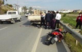 Antalya'da feci kaza: 1 ölü