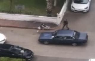 Antalya'da 'otomobilin suçu ne?' dedirten görüntü