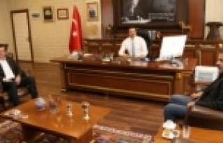 Başkan Türkdoğan'dan Rektör Kalan'a...