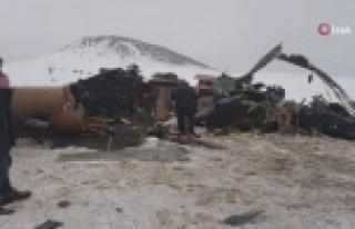 Bitlis'te askeri helikopter düştü: 10 askerimiz...