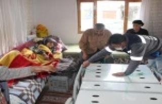 Büyükşehir'den bin 283 vatandaşa hasta yatağı