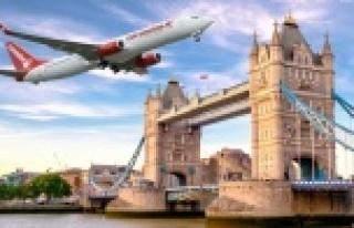 Corendon Airlines 2022 ingiltere uçuşlarını satışa...