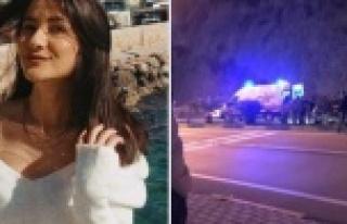 Genç kız feci kazada hayatını kaybetti
