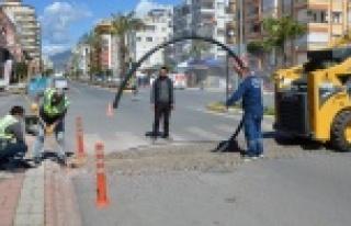 Mahmutlar'daki sinyalizasyon sorunu çözülüyor