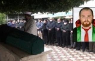 Öldürülen avukat Ersin Arslan son yolculuğuna...