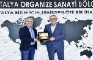 """OSB Başkanı Bahar: """"Antalyaspor'a desteğimiz..."""