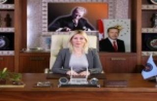 """Rektör Özkan: """" Kadına yönelik her türlü şiddeti..."""