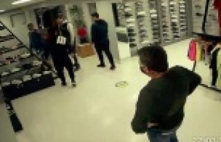 Shopping tartışmasında esnaf dernek başkanına...