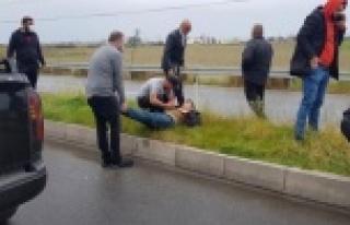 Trafik kazası sonrası düşündüren ilk yardım...