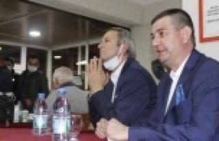 Türkdoğan Gazipaşalılarla buluştu